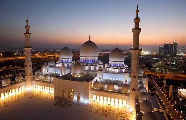 Мечеть шейха Зайда, Абу-Даби (ОАЭ)