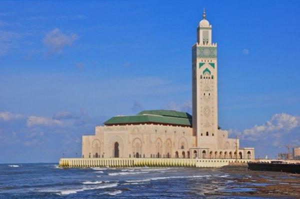 Великая мечеть Хассана II, Касабланка (Морокко)