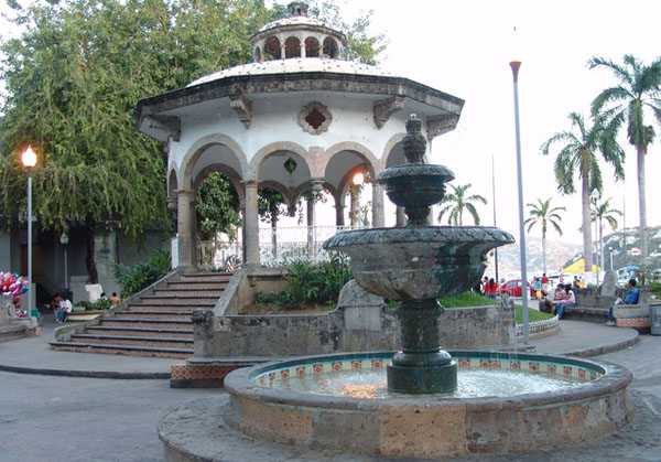 Акапулько. Центральная площадь