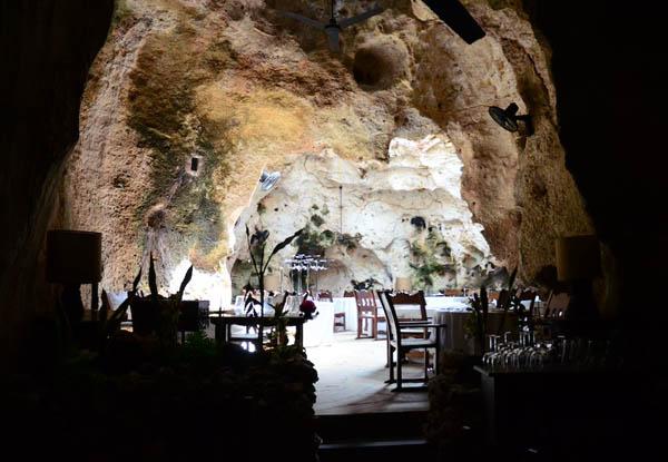 Ресторан в пещере (Кения)