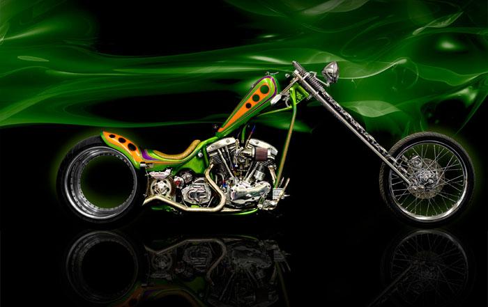 Hub less Harley Davidson