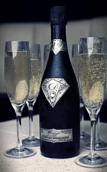 Шампанское Diamonds Champagne