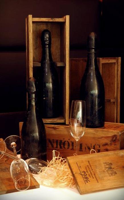 Затонувшее шампанское 1907 Heidsieck