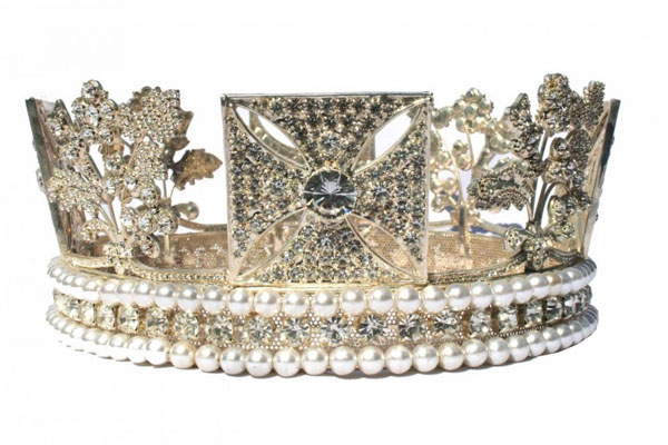 Бриллиантовая диадема короля Георга IV