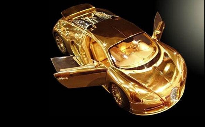 Автомобиль Bugatti Veyron Diamond Ltd