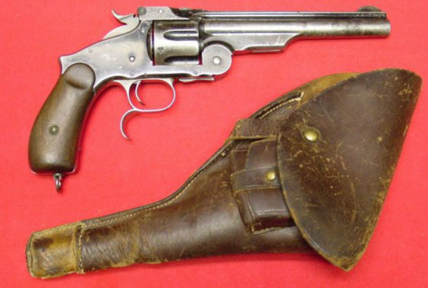 Револьвер Smith & Wesson, убивший Джесси Джеймса