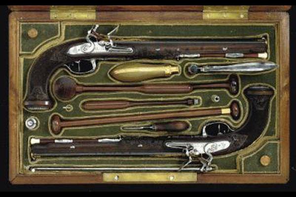 Кремневые пистолеты Симона Боливара