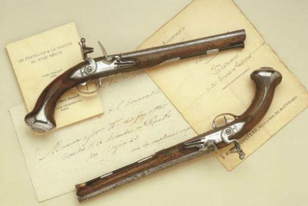Кавалерийские пистолеты Джорджа Вашингтона