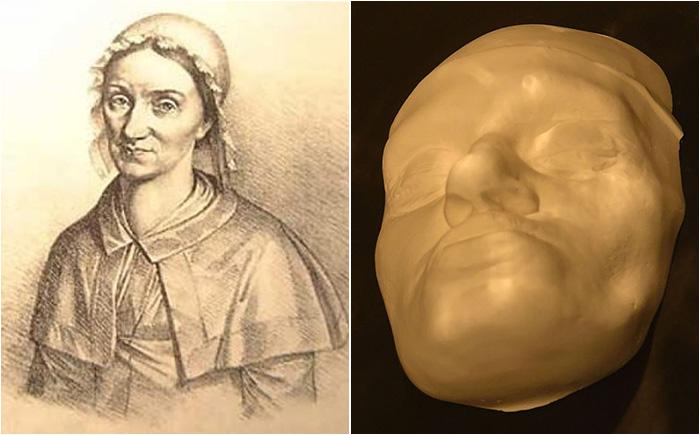 Гезина Маргарет Готфрид и её посмертная маска