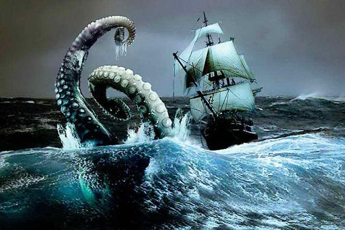 Морское чудище