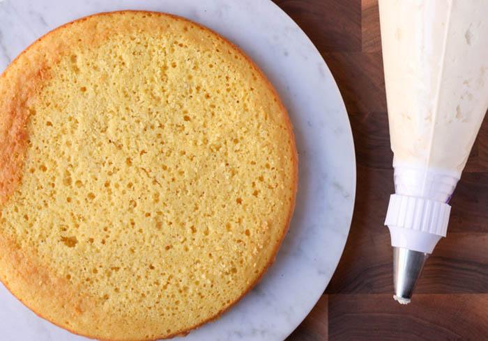 Фиксируем торт