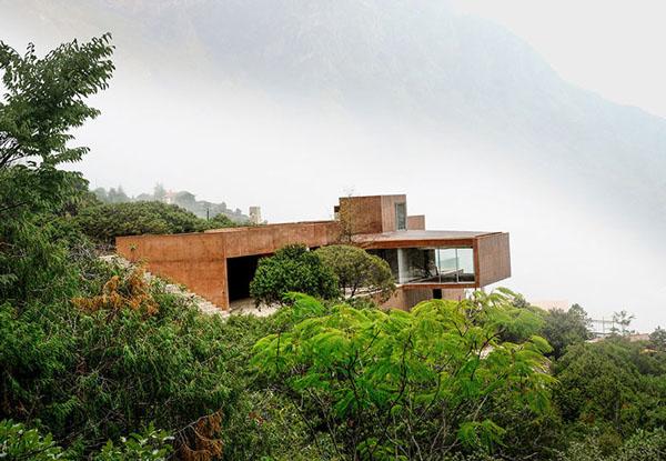 Casa Narigua: экодом в горах