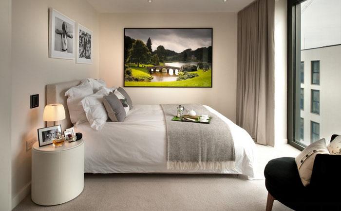 Интерьер спальни от TG-Studio