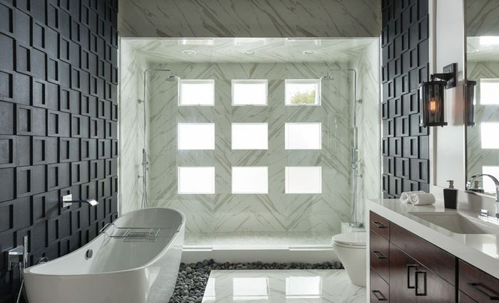 Интерьер ванной от Susan Thiel