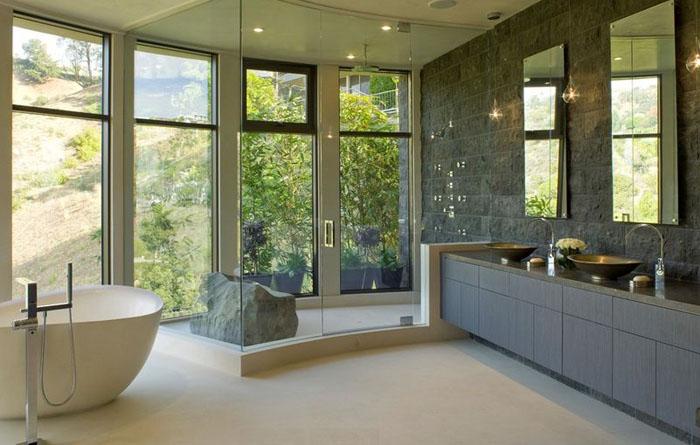 Интерьер ванной от stomarchitecture
