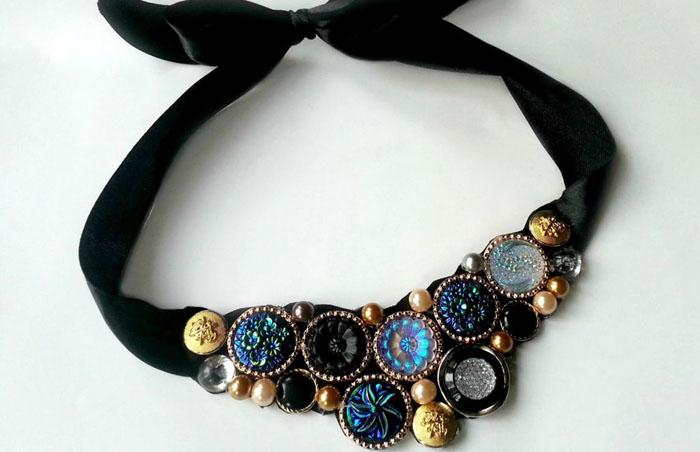 Ожерелье своими руками мастер класс 24