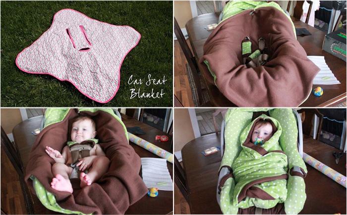 Конверт-одеяло для автокресла