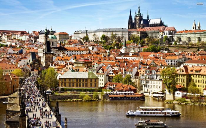 Город сотни башен – Прага