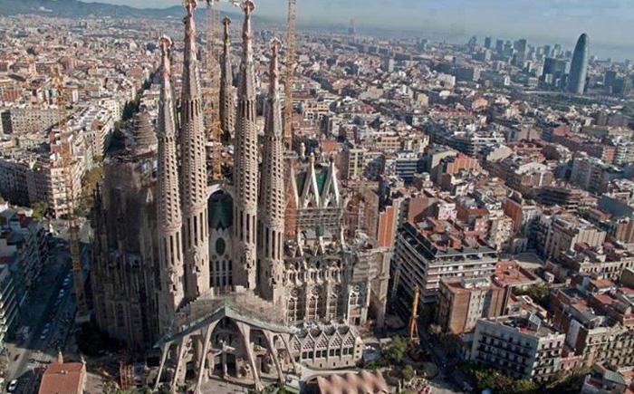Город Гауди - Барселона