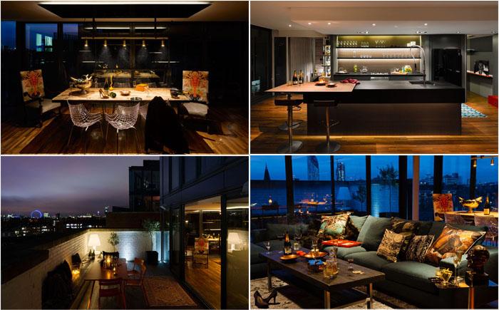 Лондонский пентхаус: невероятный пример современного дизайна
