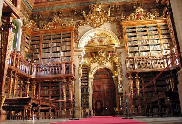 Коимбрский университет: библиотека