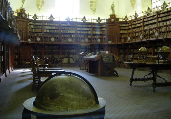 Университет Саламанки: библиотека
