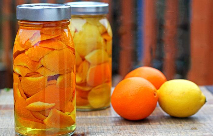Настой на апельсиновой кожуре