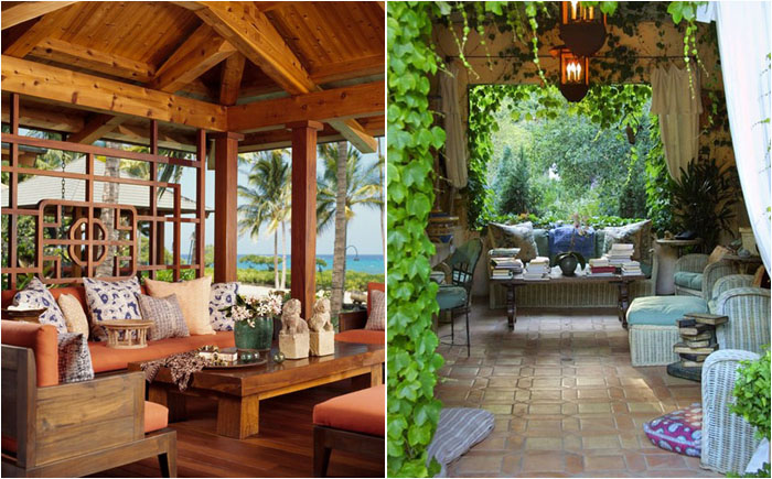 20 умопомрачительных гостиных на свежем воздухе