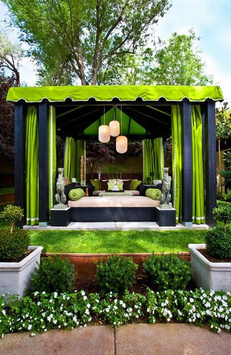 Патио от Gregg Hodson Interior Design