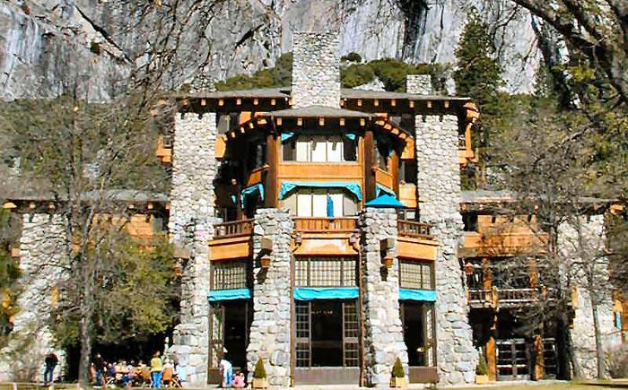 Национальный парк, отель