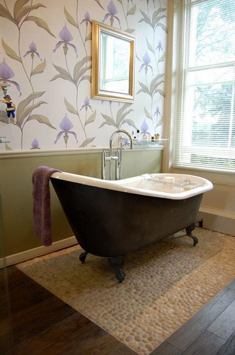 Интерьер ванной от Slightly Quirky Ltd