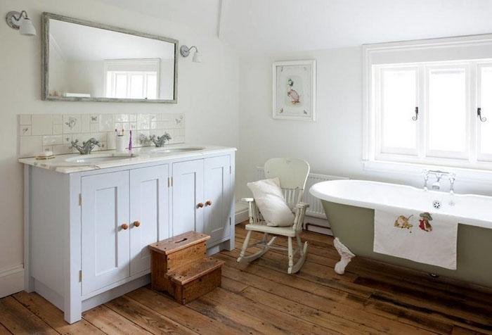 Интерьер ванной от The Bathroom Vanity Company
