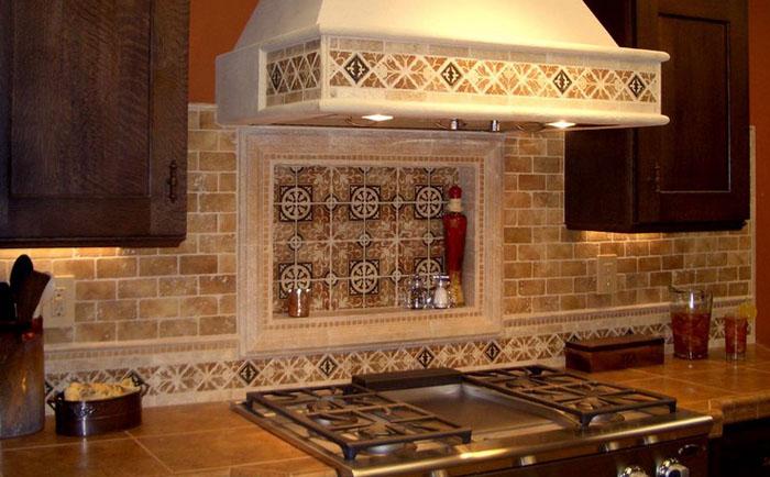Фартук на кухне: как выбрать идеальный материал