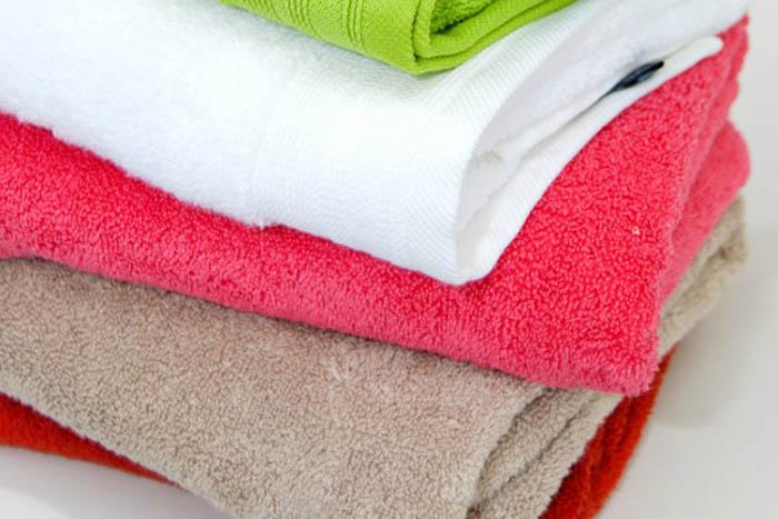 Стираем полотенца