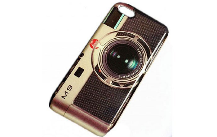 Винтажный фотоаппарат для iphone 5