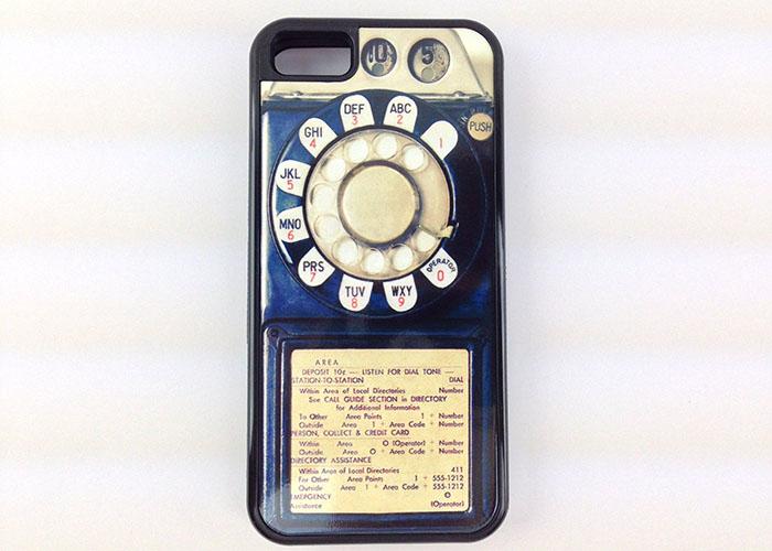 Винтажный телефон для iPhone 5