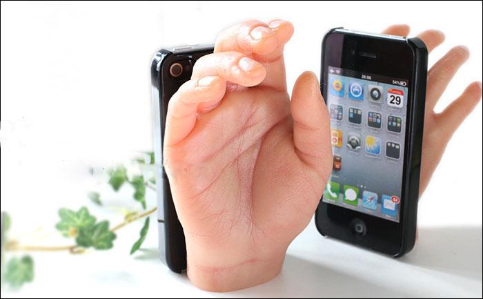 Чехол с рукой для iPhone 5/5s