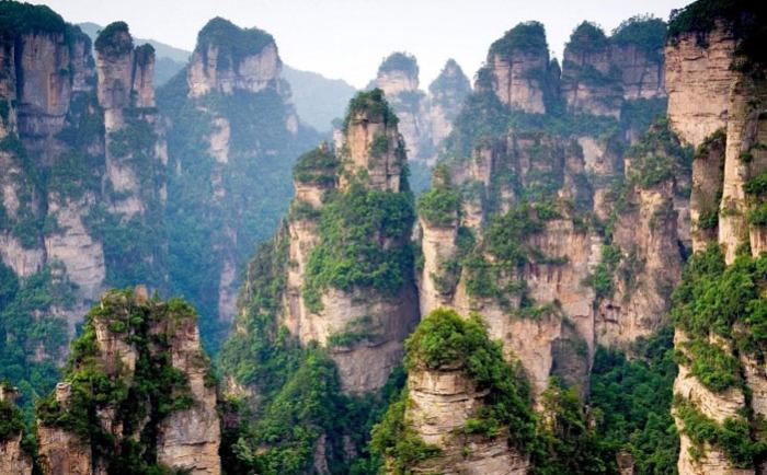 Горы Тианзи