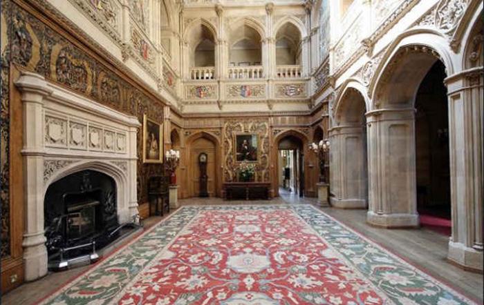 Замок Хайклер («Аббатство Даунтон»)