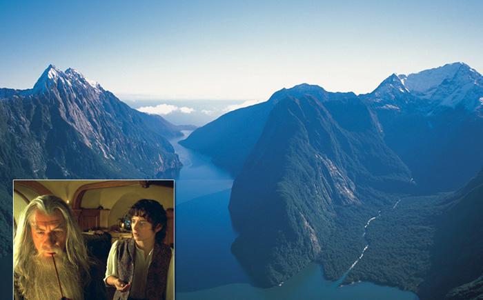 Новая Зеландия (трилогия «Властелин колец»)