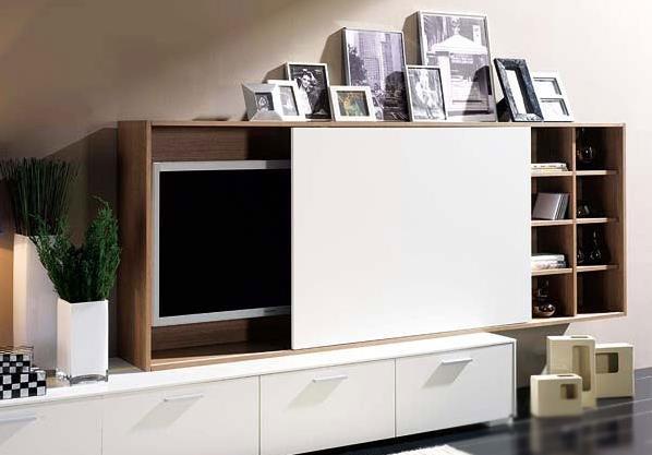 Телевизор можно спрятать, пока он не работает