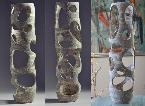 Ажурные вазы от  Донатаса Жукаускаса
