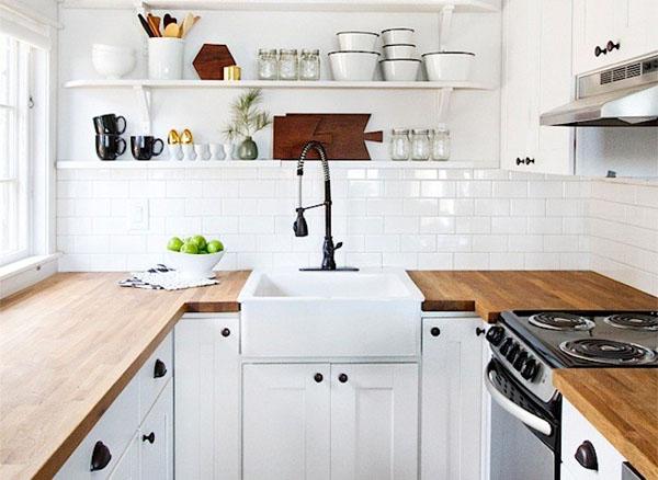 Деревянная столешница для кухни спб столешница италия белая искра