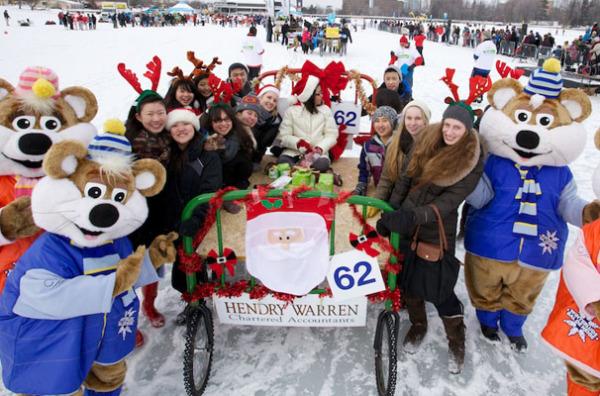 Зимний фестиваль Винтерлюдия (Онтарио, Канада)