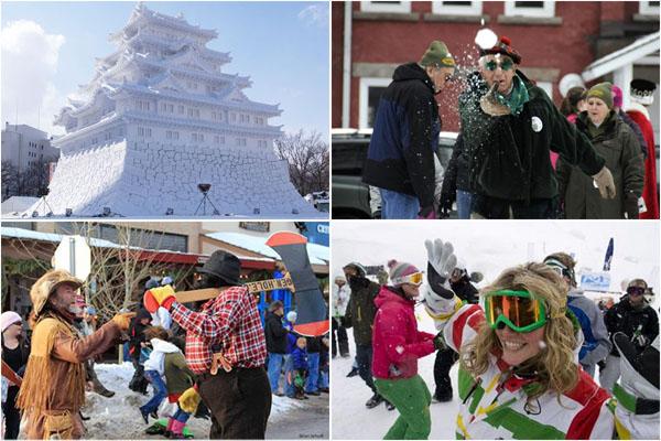 10 самых популярных зимних фестивалей