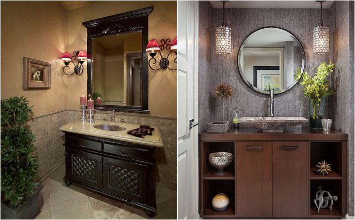 Декор в интерьере ванной