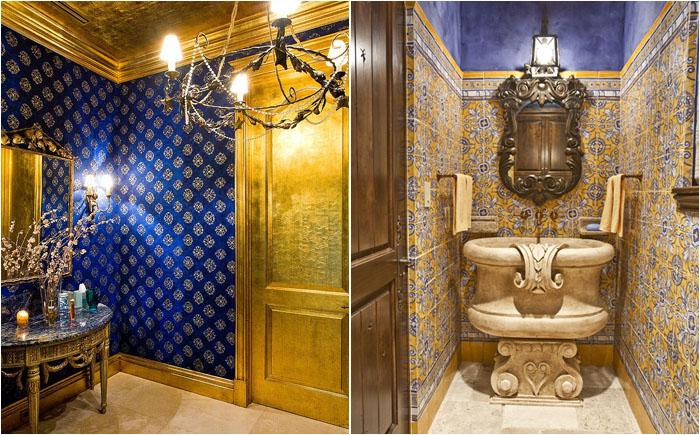 Разнообразие стилей интерьера в ванной