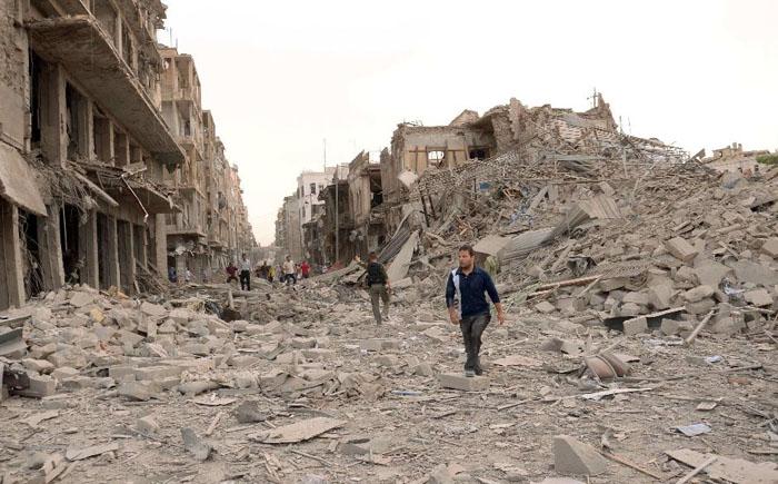 Разрушение Дамаска