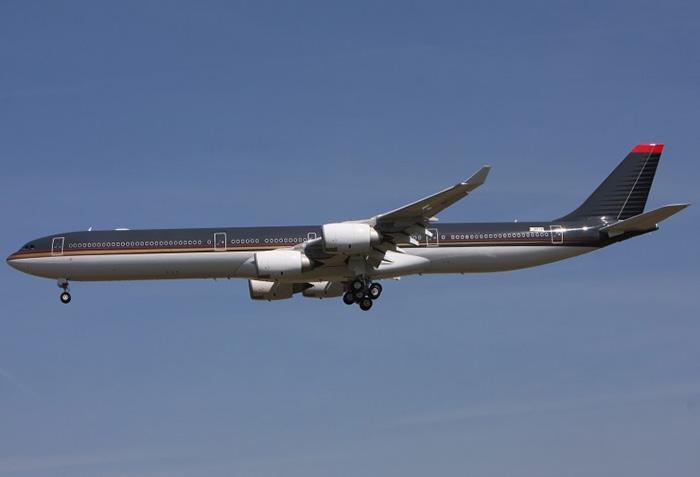 Airbus A340-600 – Иордания