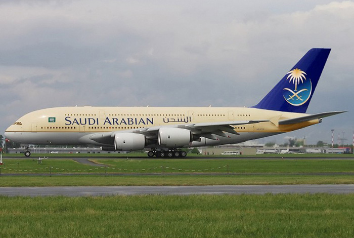 Airbus A380 – Саудовская Аравия